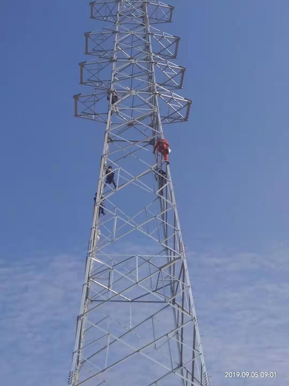 天融风能沾化50MW风电场项目35kV集电线路施工安装龙8游戏
