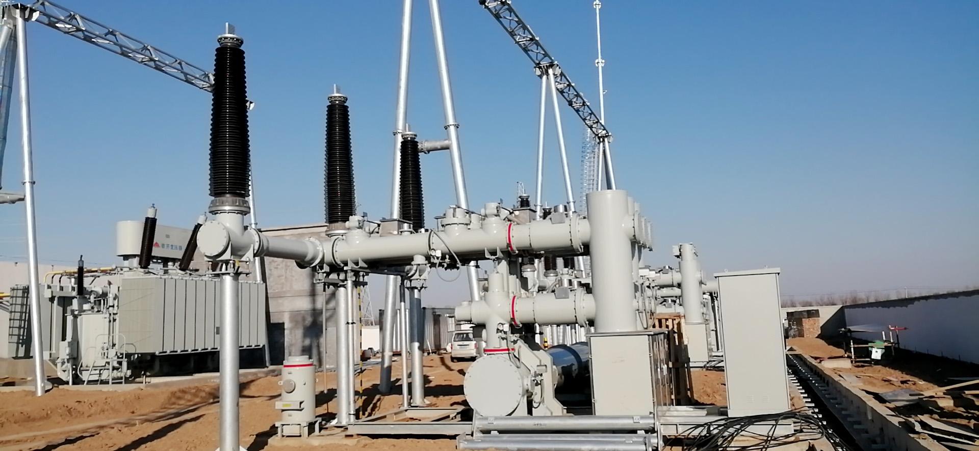 国电投商河一期100MW风电场送出线路;对侧站改造龙8游戏
